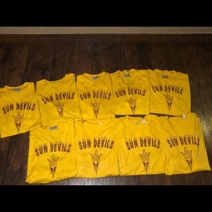 9 NUMBERED JERSEYS